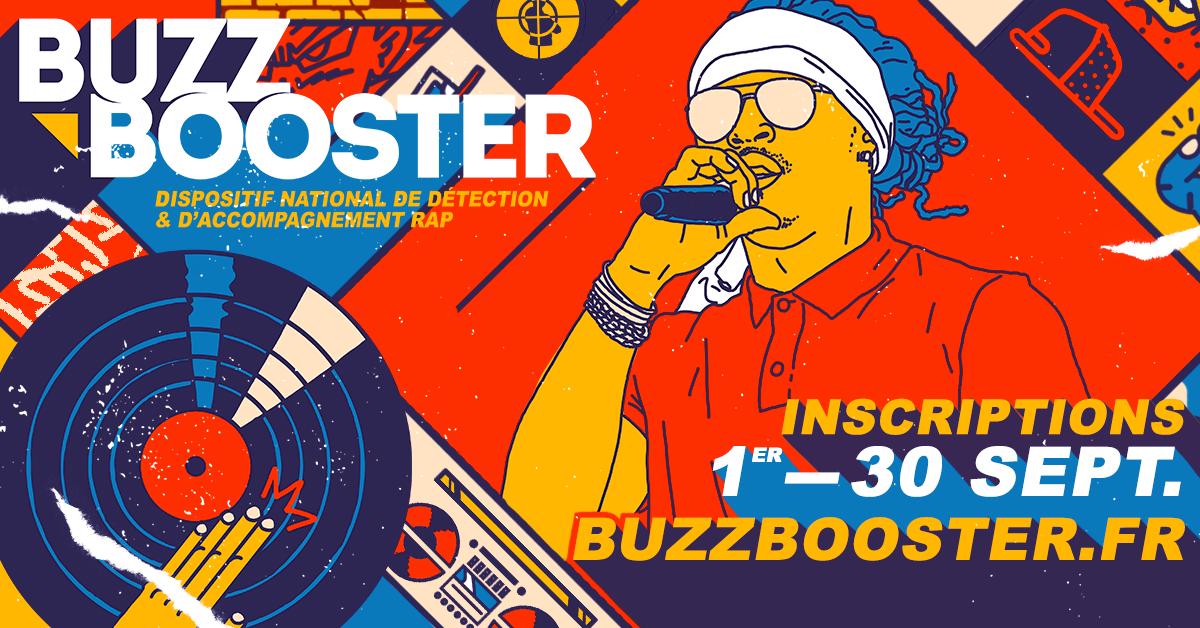 INSCRIPTIONS BUZZ BOOSTER #11 // DU 02 AU 30 SEPTEMBRE 2019